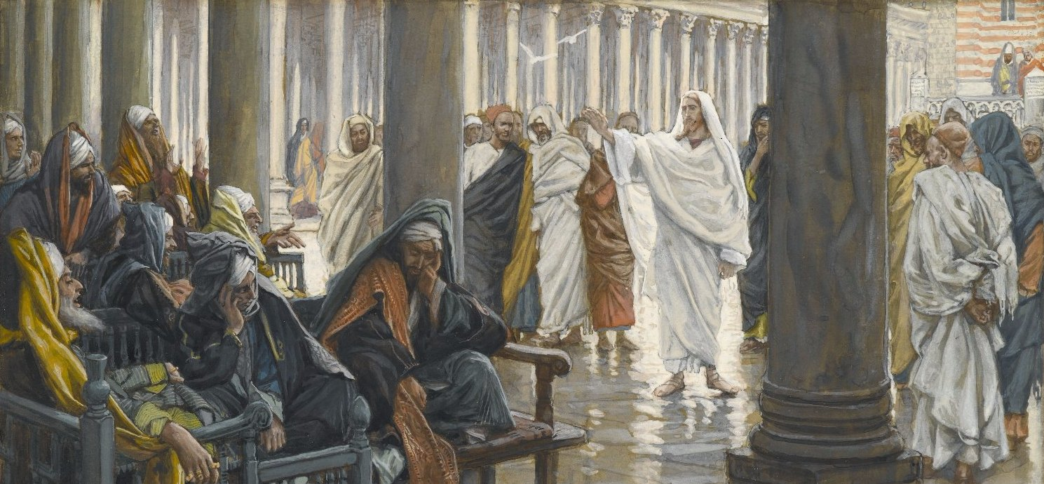 James Tissot, Woe unto You, Scribes and Pharisees
